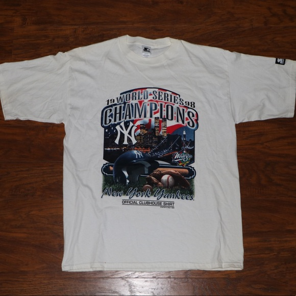 STARTER Other - STARTER: NY YANKEES 1998 WORLD SERIES CHAMPS SHIRT